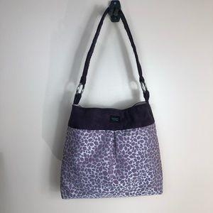 MADISON lavender purple tote handbag